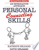 Cover of PERSONAL COUNSELING SKILLS: An Integrative Approach. (Rev. 1st Ed.)