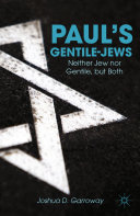 Paul's Gentile-Jews Pdf/ePub eBook