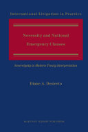 Necessity and National Emergency Clauses