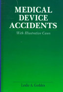 Medical Device Accidents Book