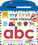 My First Wipe Clean ABC Book PDF