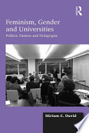 Feminism  Gender and Universities