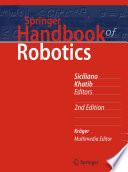 Springer Handbook of Robotics Book