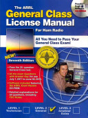 The ARRL General Class License Manual for Ham Radio Book