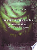 Operation shopping centers