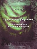 Operation shopping centers Pdf/ePub eBook