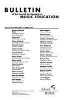 Bulletin   Council for Research in Music Education