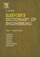 Pdf Elsevier's Dictionary of Engineering
