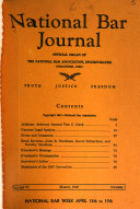 National Bar Journal