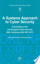 A Systems Approach to Cyber Security