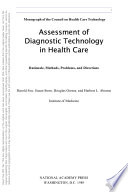 Assessment of Diagnostic Technology in Health Care