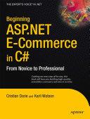 Beginning ASP NET E Commerce in C