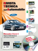 Manuale di riparazione meccanica Mercedes Classe C (W203) C200 e C220 CDI - RTA191