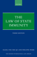 Pdf The Law of State Immunity Telecharger