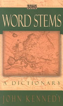Word Stems ebook