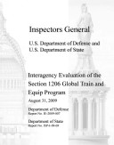 Interagency Evaluation of the Section 1206 Global Train and Equip Program