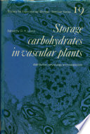 Storage Carbohydrates in Vascular Plants Book