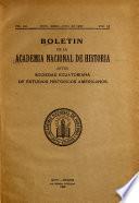Boletin De La Academia Nacional De Historia