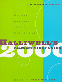 Halliwell S Film And Video Guide 2000 Book PDF