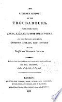 Literary History of the Troubadours Pdf/ePub eBook