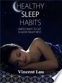 Healthy sleep habits Book PDF