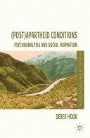 (Post)apartheid Conditions Pdf/ePub eBook