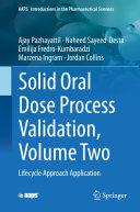 Pdf Solid Oral Dose Process Validation, Volume Two Telecharger