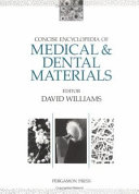 Concise Encyclopedia of Medical and Dental Materials