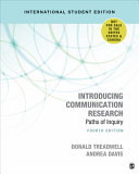 Introducing Communication Research International Student Edition