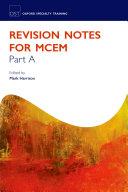 Revision Notes for MCEM