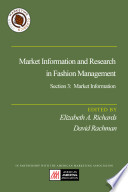 Market Information And Research In Fashion Management Section 3 Market Information Book PDF