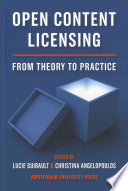Open Content Licensing Book