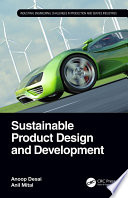 Sustainable Product Design and Development