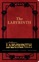 Labyrinth Hardcover Ruled Journal Book