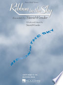 Ribbon in the Sky Sheet Music