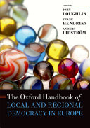 The Oxford Handbook of Local and Regional Democracy in Europe Pdf/ePub eBook