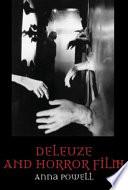 Deleuze and Horror Film