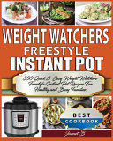 Weight Watchers Freestyle Instant Pot Cookbook Book