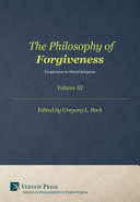 Philosophy of Forgiveness