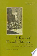 A Race of Female Patriots Book
