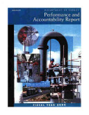 U S  Department of Energy Performance and Accountability Report  Fiscal Year 2000