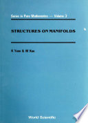 Structures on Manifolds