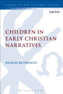 Children in Early Christian Narratives Book