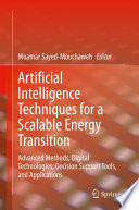 Artificial Intelligence Techniques for a Scalable Energy Transition Book