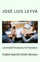 Law English Vocabulary for Translators