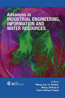 Advances in Industrial Engineering, Information and Water Resources