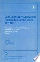 Post Secondary Education