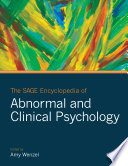 The SAGE Encyclopedia of Abnormal and Clinical Psychology Book