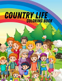Country Life Coloring Book Book PDF