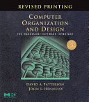 Computer Organization and Design, Revised Printing: The ...
